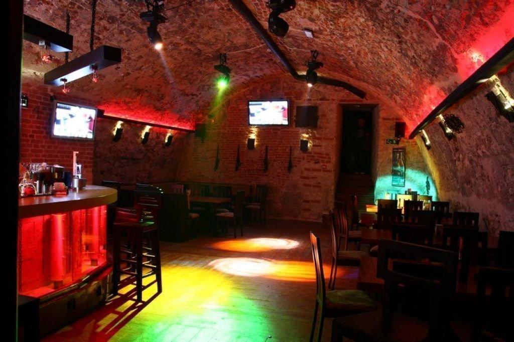 Projekt wnętrz klubu muzycznego LochNess Rock Pub w Krakowie