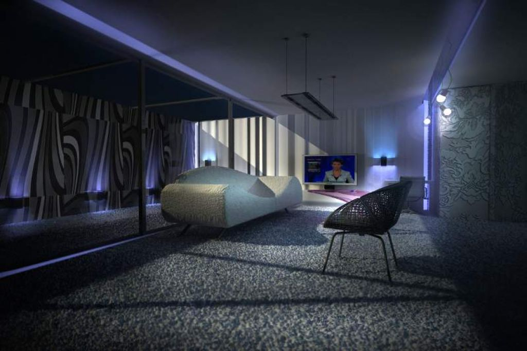 Projekt wnętrz apartamentów  w Hotelu Lenart w Wieliczce