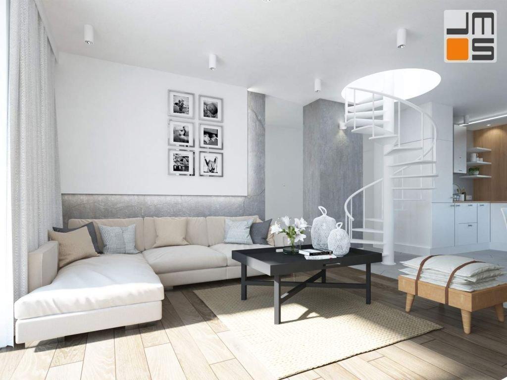 NEW  NORDIC HOUSE - oryginalny projekt wnętrz domu jednorodzinnego w Wolbromiu