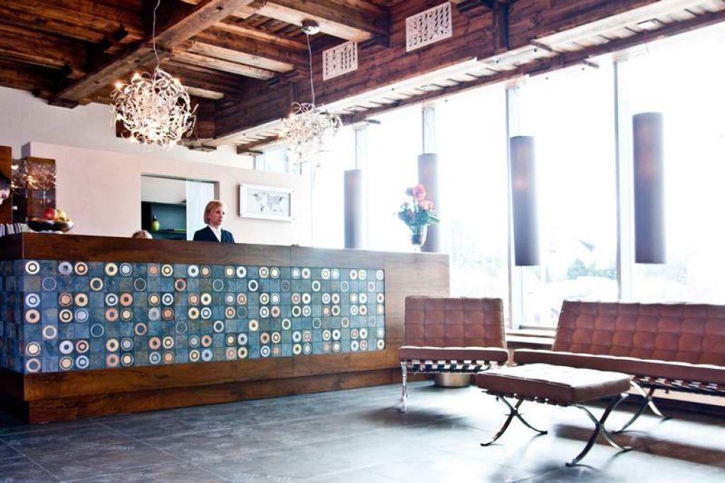 Hotel Młyn Jacka k/Wadowic - Wnętrza przestrzeni wspólnych