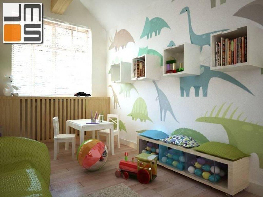 Projekt przytulnego pokoju dziecięcego, pomysłowa dekoracja na ścianie w pokoju dziecka