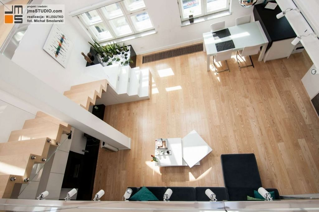 projekt wnętrz mieszkania apartamentu w krakowie