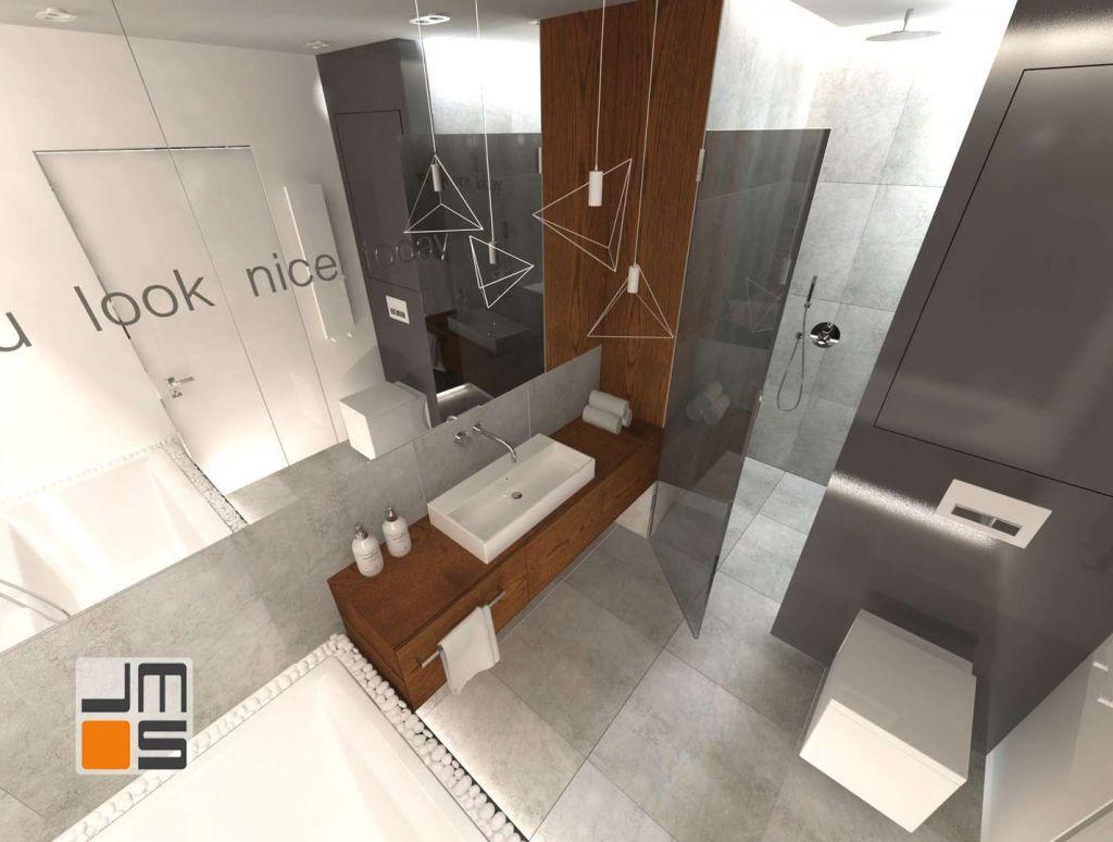 Nietypowe zastosowanie drewna w łazience