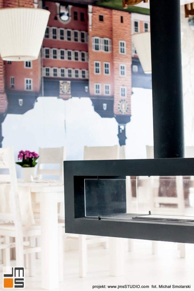 2016 09 jmsstudio 27 projekt wnetrz restauracji krakow bio kominek wiszacy dwustronny na indywidualne zamowienie