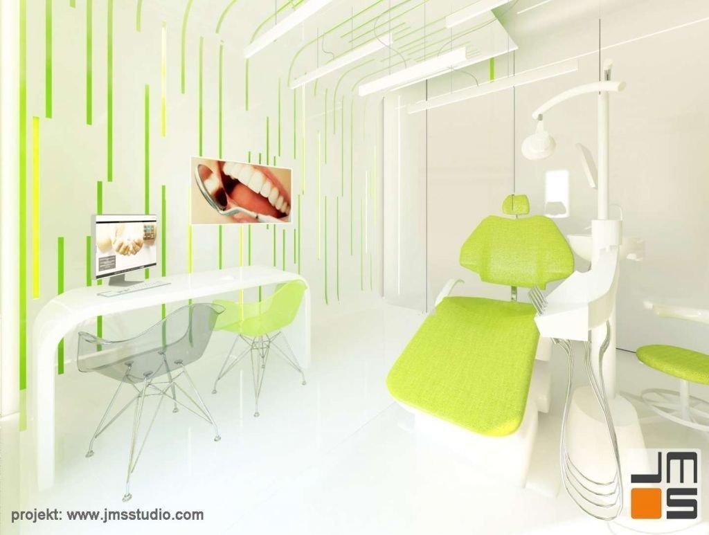 pomysł na deignerskie oświetlenie gabinetu dentystycznego
