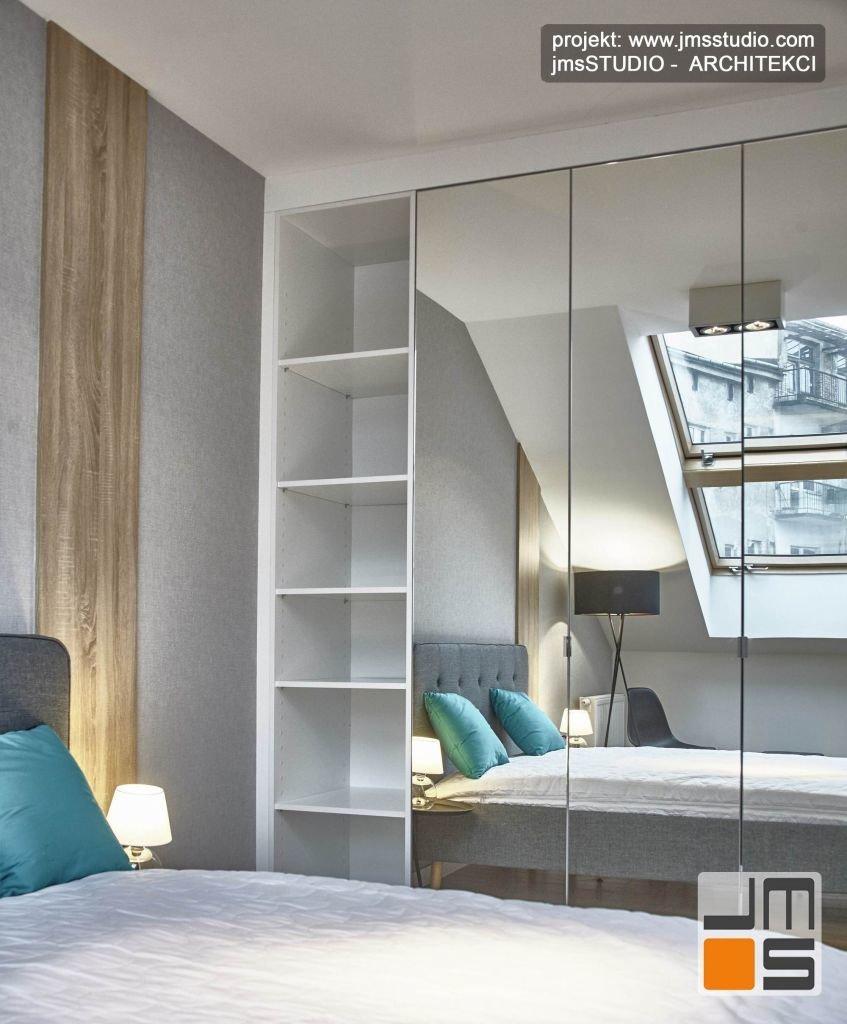 Kompleksowa realizacja pod klucz mieszkania pod wynajem z designerskim projektem wnętrz w kolorach szarości w Krakowie
