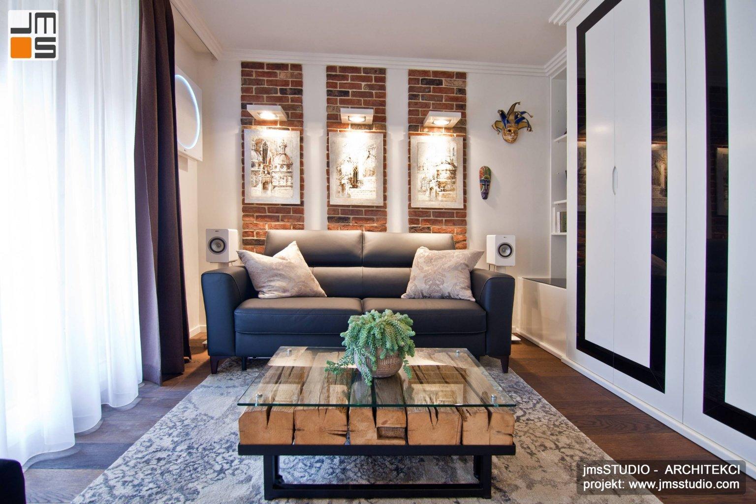 podłoga z naturalnego drewna olejowana to bardzo elegancka dekoracja rustykalnego wnętrza mieszkania w Krakowie
