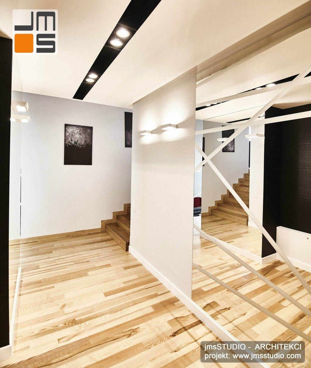 Oryginalny projekt wnętrz dużego domu Poznań, z pomysłem na wnetrze Poznań.