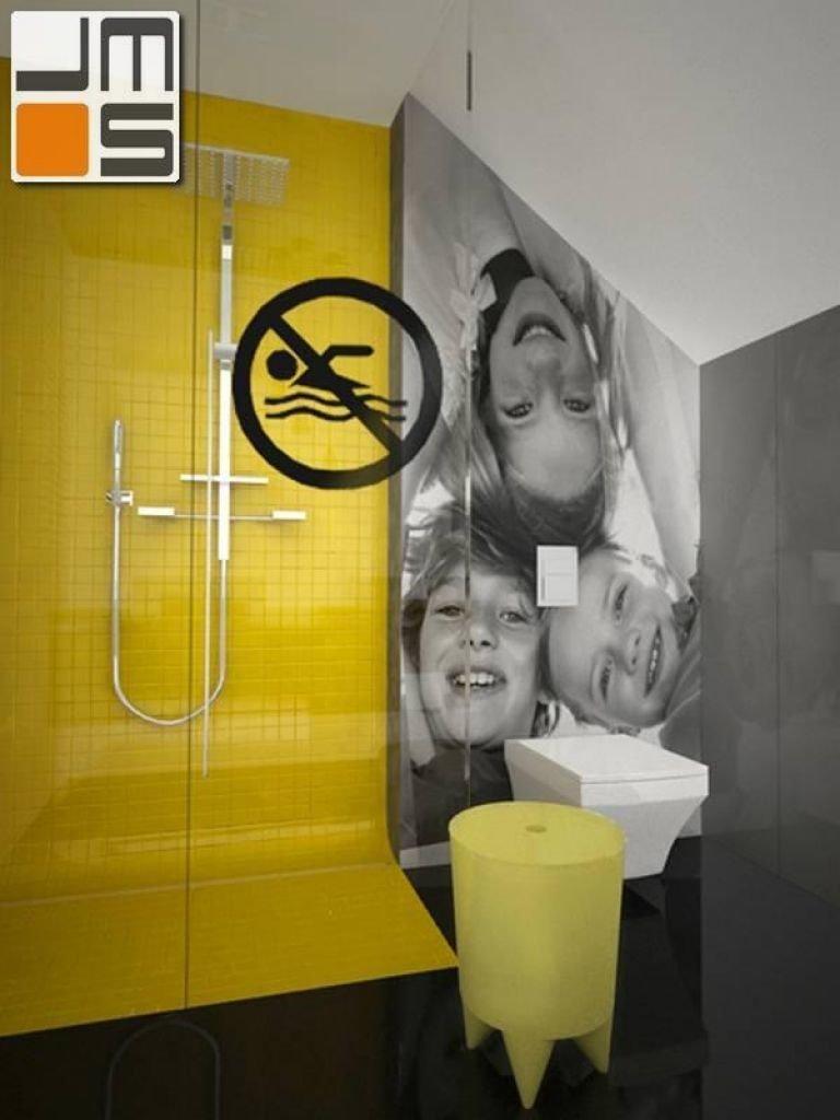 Pomysł na aranżację wnętrz z prysznicem w łazience dziecięcej