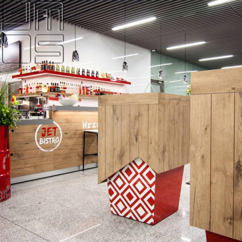 Pomysł na design stolików   Pomysł na stół w restauracji