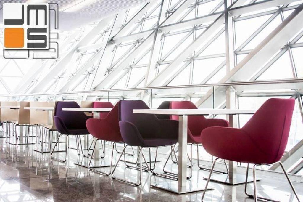 Pomysł na meble w przestrzeni lotniska