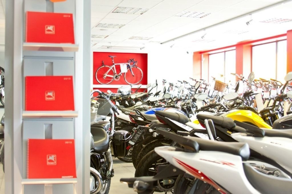 Pomysł na remont sklepu ze sprzętem rowerowym.