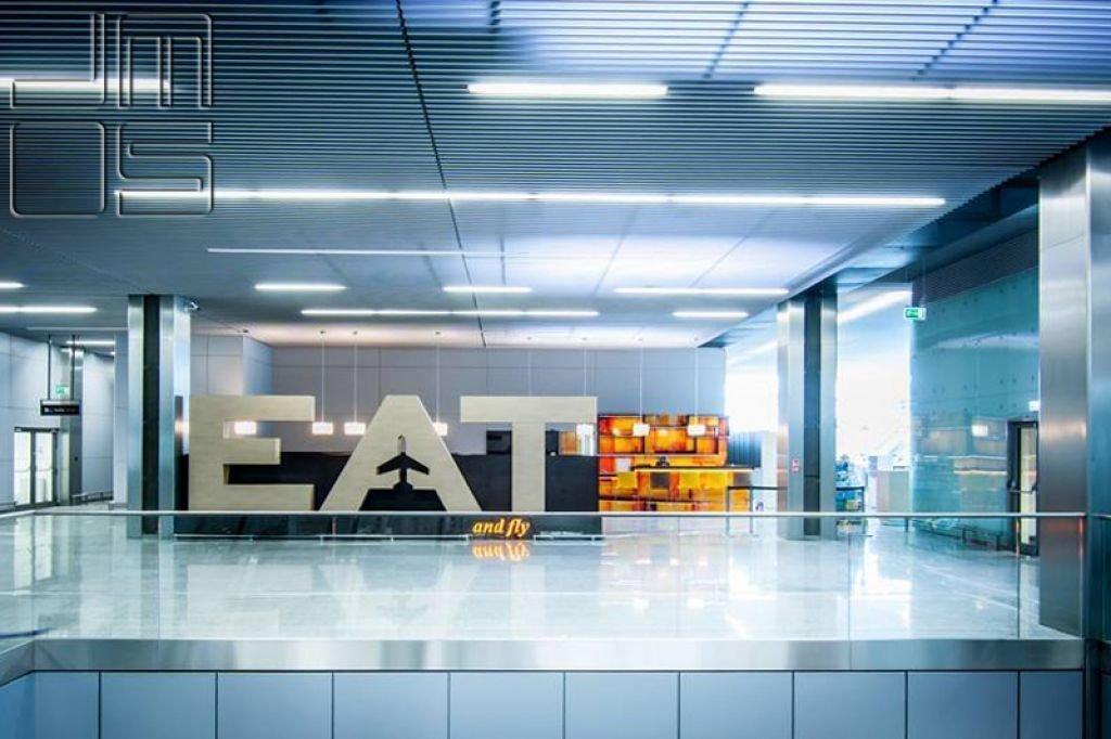 Projekt informacji wizualnej w lokalu gastronomicznym