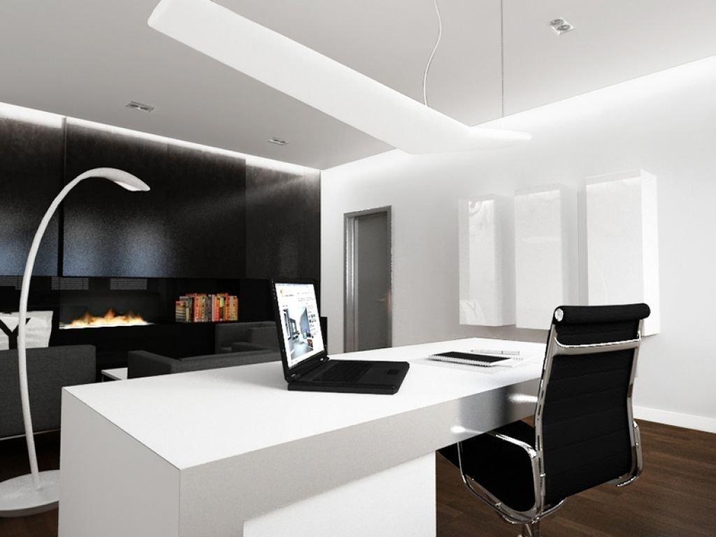 Projekt luksusowego biura