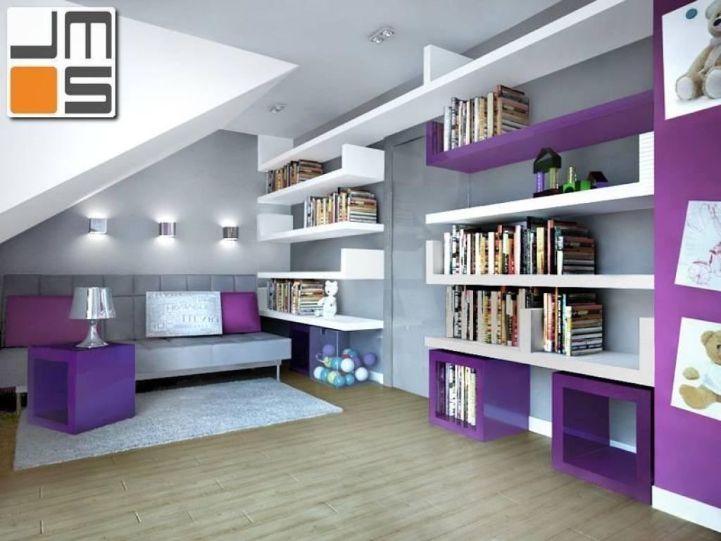 Projekt nowoczesnego pokoju dziewczynki pomysł na meble w pokoju dziecka