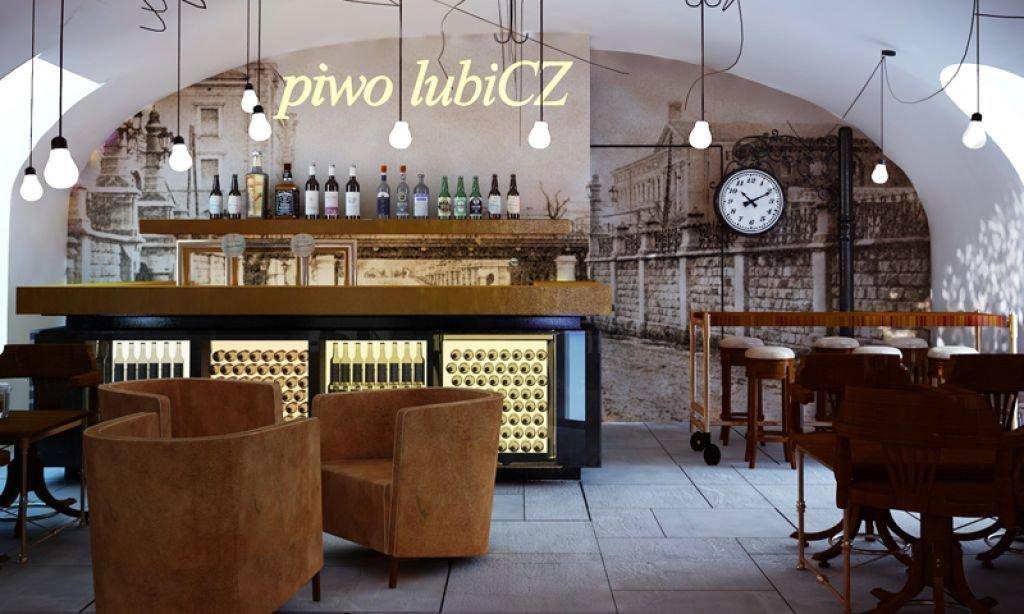Projekt wnętrz restauracji browaru w Krakowie