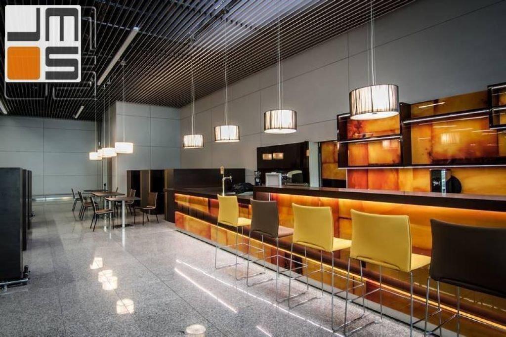 Realizacja restauracji na terenie lotniska w Balicach projekt strefy VIP