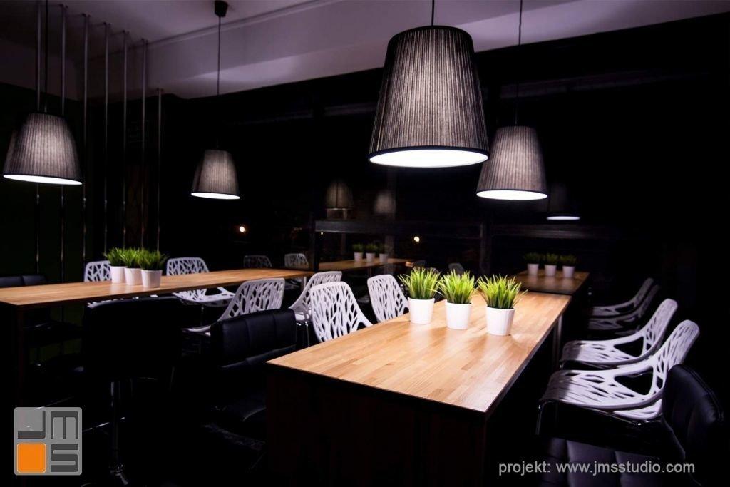 Lampy stanowią wązny element każdego projektu wnętrz kawiarni cukierni czy restauracji