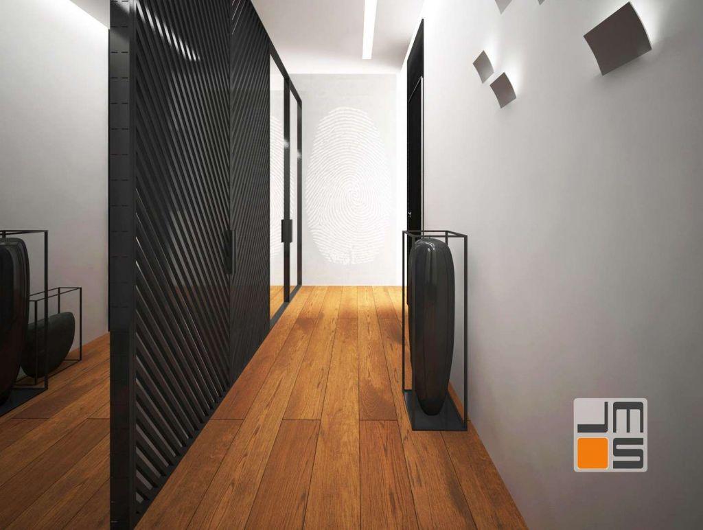 dekoracyjne fronty wykonane z profili aluminiowych