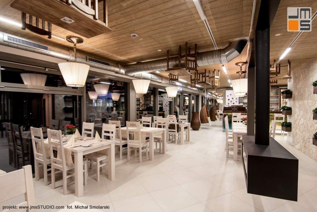 2016 09 jmsstudio 17 projekt wnetrz restauracji krakow we wnetrzu restauracji zaprojektowano kominek produowany na zamowienie bio kominek