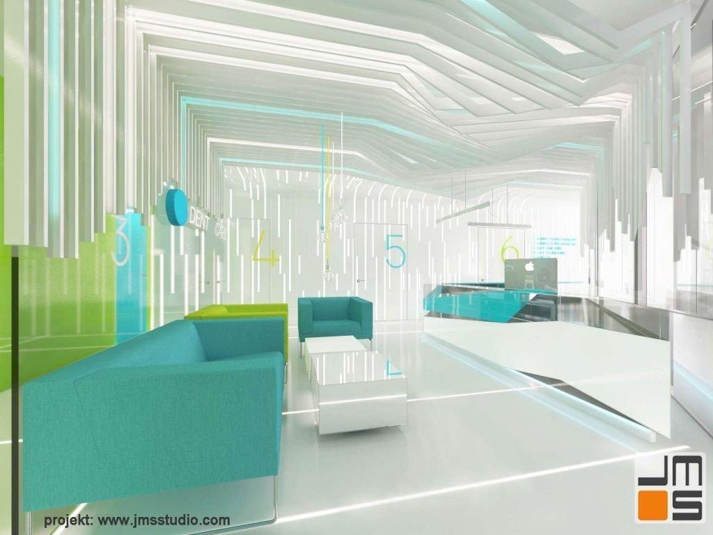 Dekoracyjny sufit jako pomysł na niebanalne wnętrze