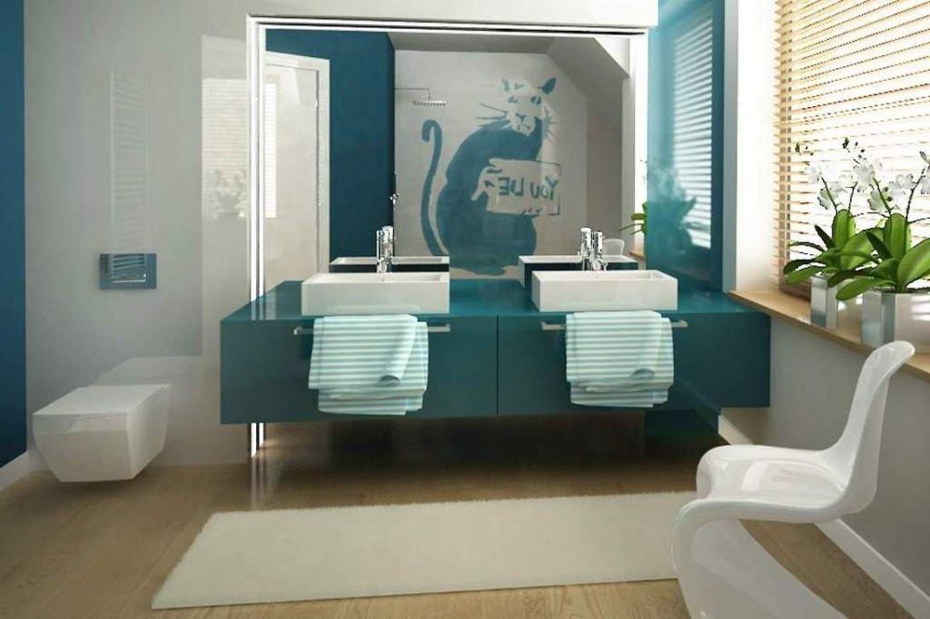 Ciekawe pomysły na projekt aranżacji wnętrz nowoczesnych łazienek na poddaszu ze skosami