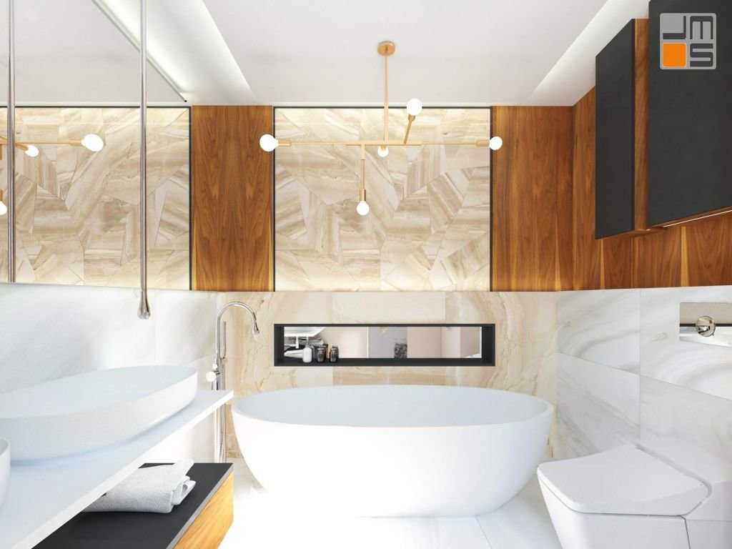 łazienka to bardzo ważne pomieszczenie projekt wnętrz łazienki powinien być ciekawy i współgrać z resztą mieszkania
