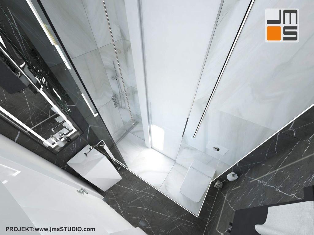 mała łazienka wymaga kompaktowych rozwiązań przestrzennyc