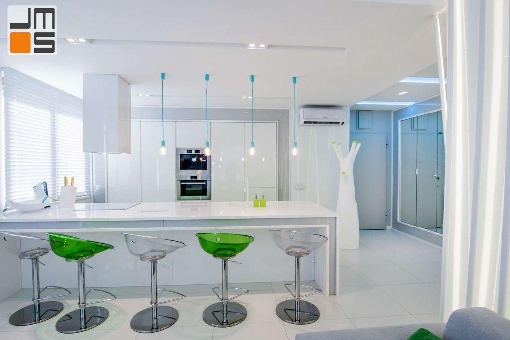 Pomysł na wyspę kuchenną w mieszkaniu Pomysł na aneks kuchenny