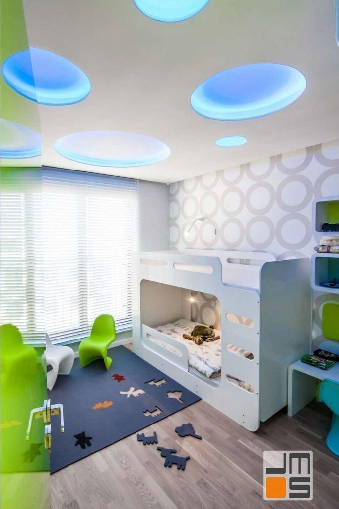 Pomysł na ściany w pokoju dla dzieci pomysł na piętrowe łóżko dla dzieci