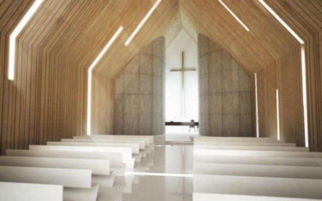 Projekty wnętrz architektura sakralna