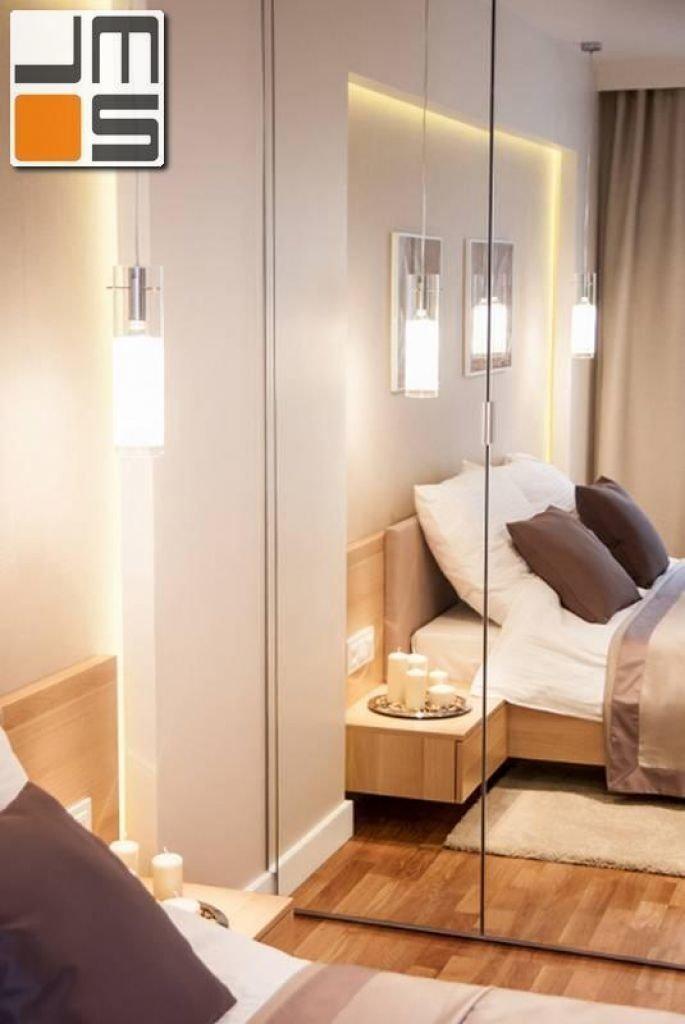 Pomysł na wykończenie szafy w małej sypialni