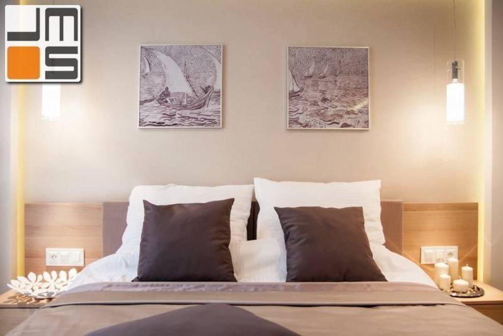 Pomysł na aranżację ściany za łóżkiem pomysł na ciekawe wnętrze sypialni