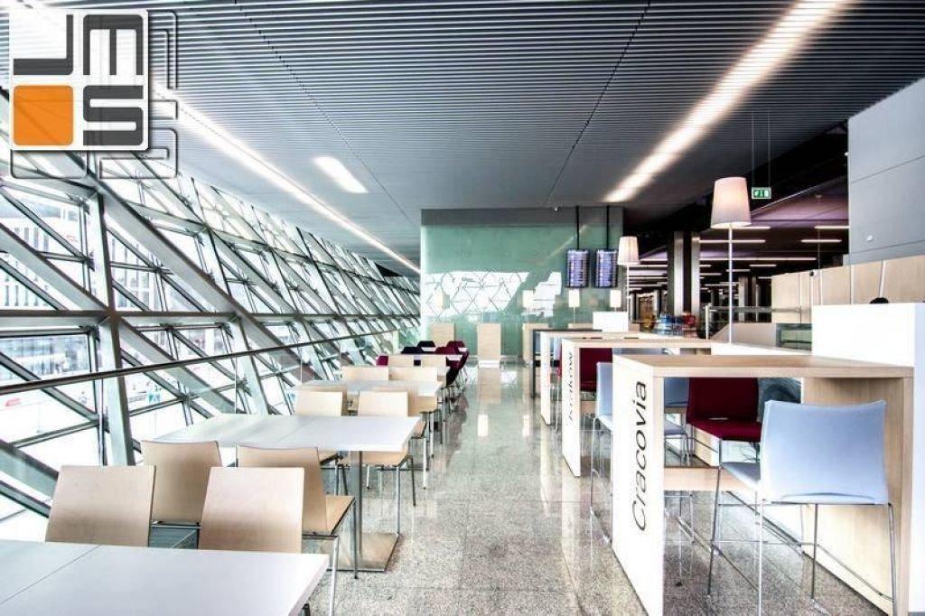Projekt lokalu gastronomicznego na terenie lotniska