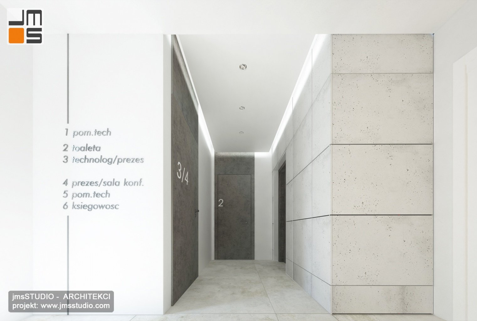 Efektowne i eleganckie wnętrza biurowe - ciekawy pomysł na aranżacje i projekt wnętrz Kraków