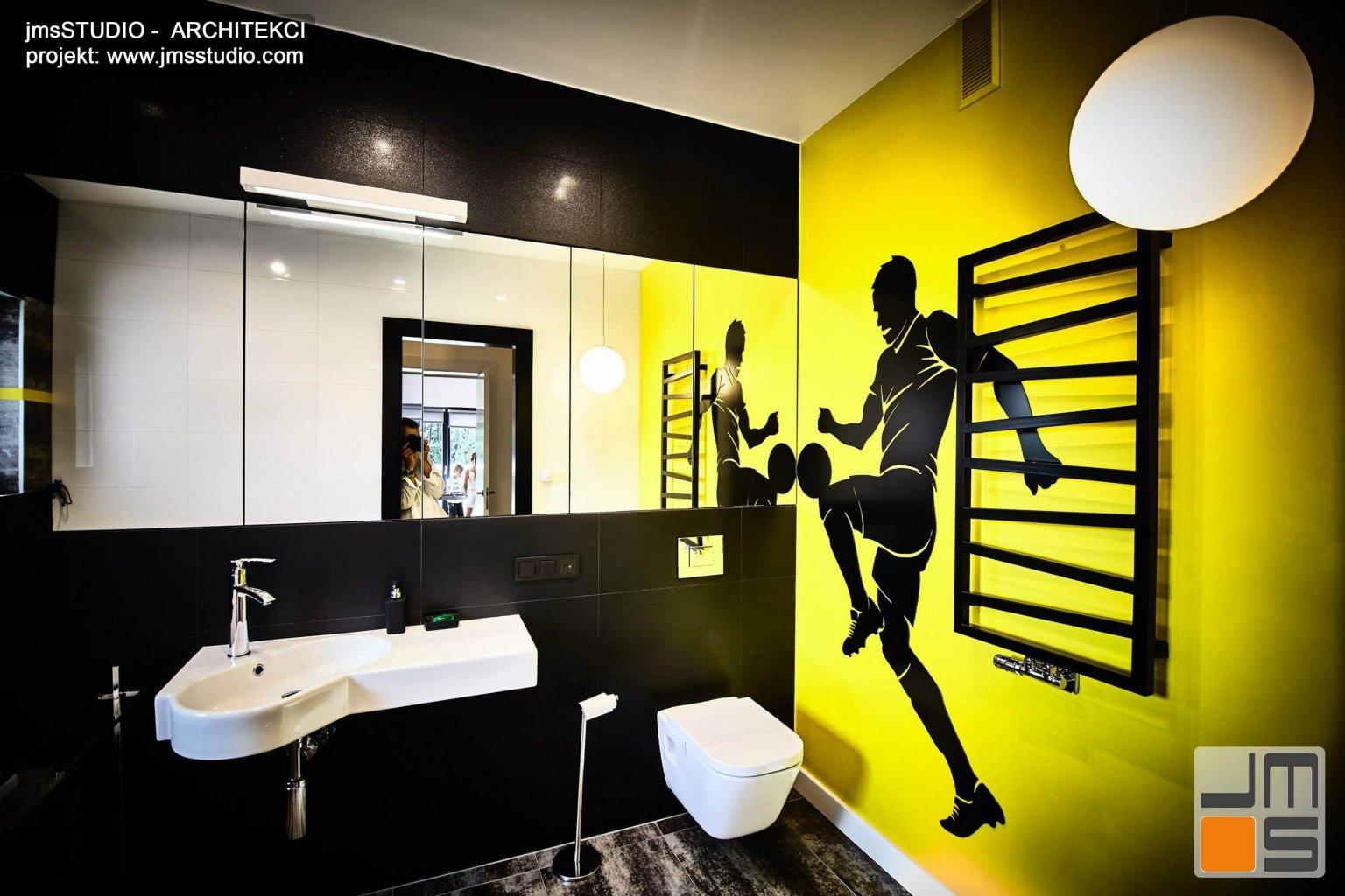 Projekty wnętrz nowoczesnej prostej łazienki z pomysłem i łazienek dla nastolatków w Poznaniu