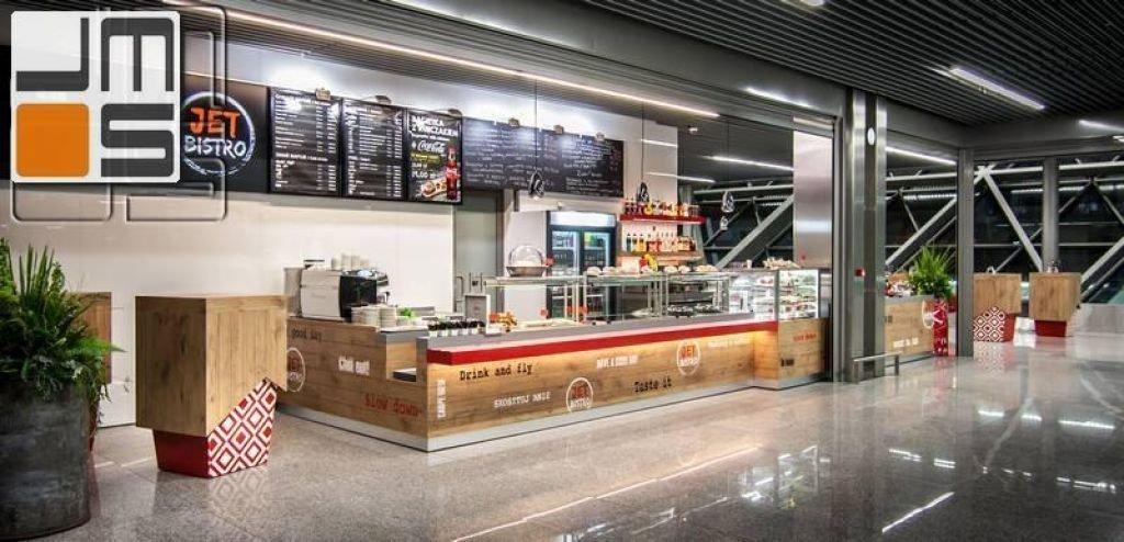 Realizacja lokalu usługowego na terminalu T4 w Balicach