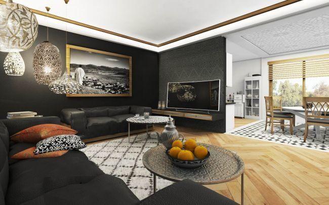 Projekt Wnętrz Śródziemnomorskich - ETNO DESIGN - w stylu Marokańskim